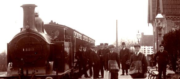 Thornbury_Station_about_1910